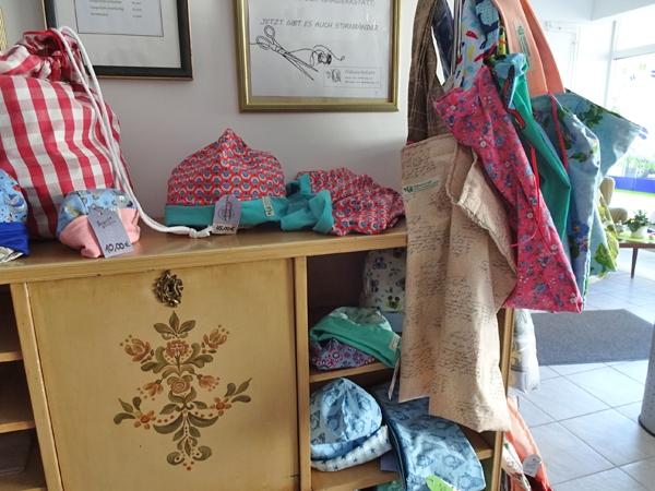 Mützen Taschen und mehr – Stoffupcycling