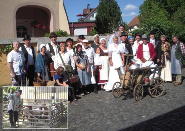 Datterich-Theater Gruppenbild