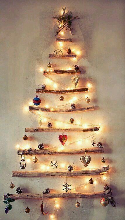 Leuchtender Wandbaum